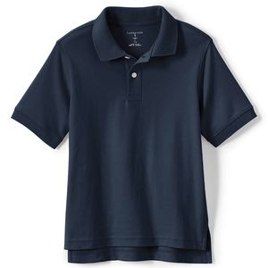 Navy Short Sleeve Polo for Kids by Lands' End